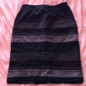 WHBM pencil winter skirt